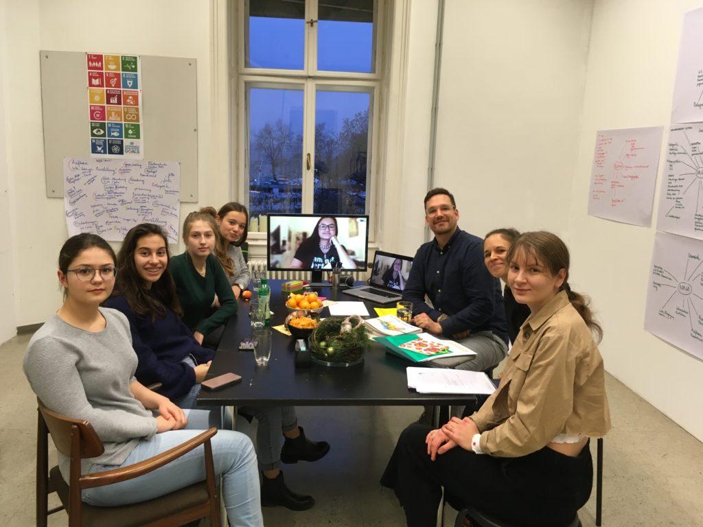 Die erste Redaktionssitzung des MediaLab